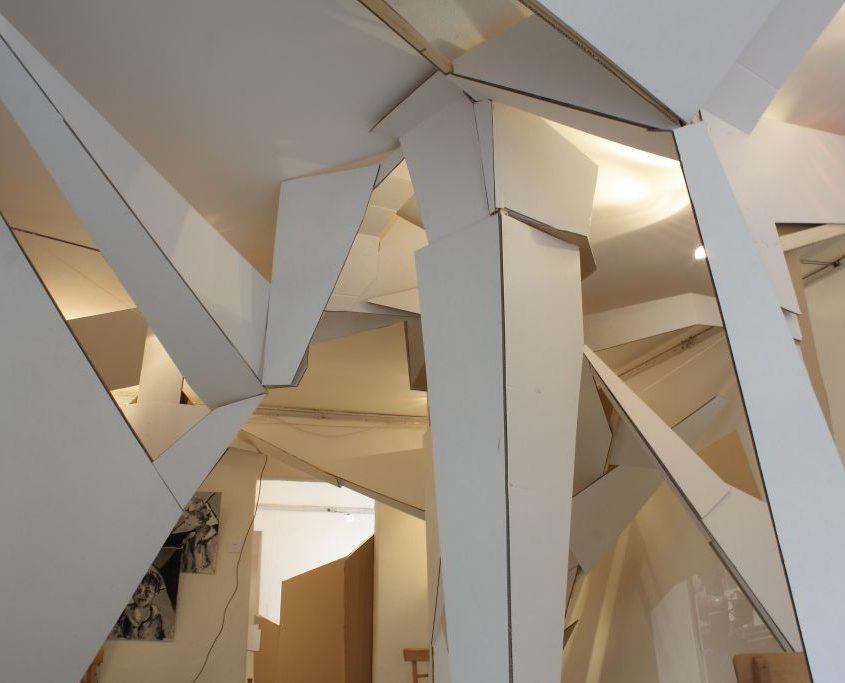 Merzbau, Ausstellung Stadt im Fluß 2012