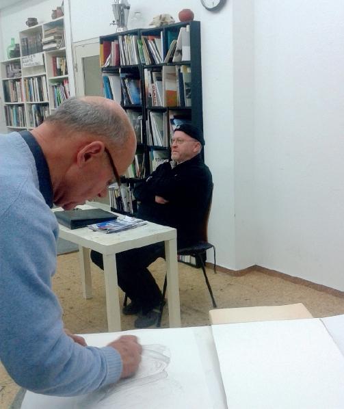 Portraitzeichnen lernen bei Karin Genitheim