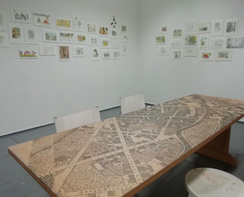 Ausstellung Tischkultur-Weltwerkstatt