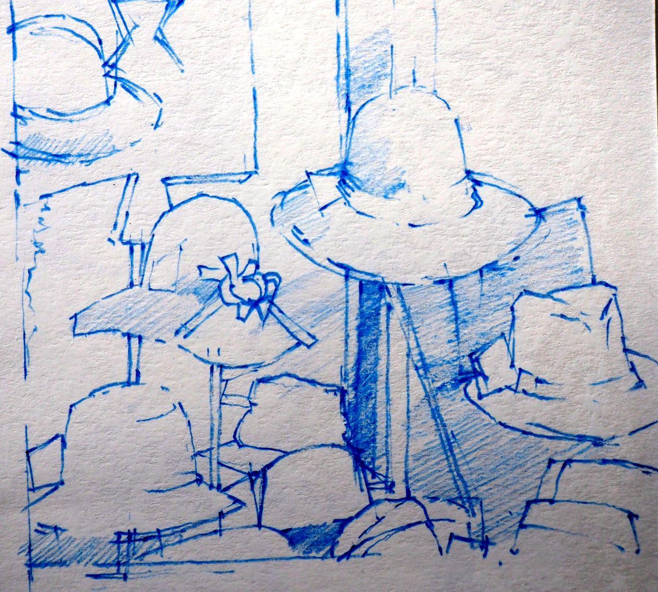 Grundlagen des Zeichnens, Zeichenkurs mit Anthony J. Smith