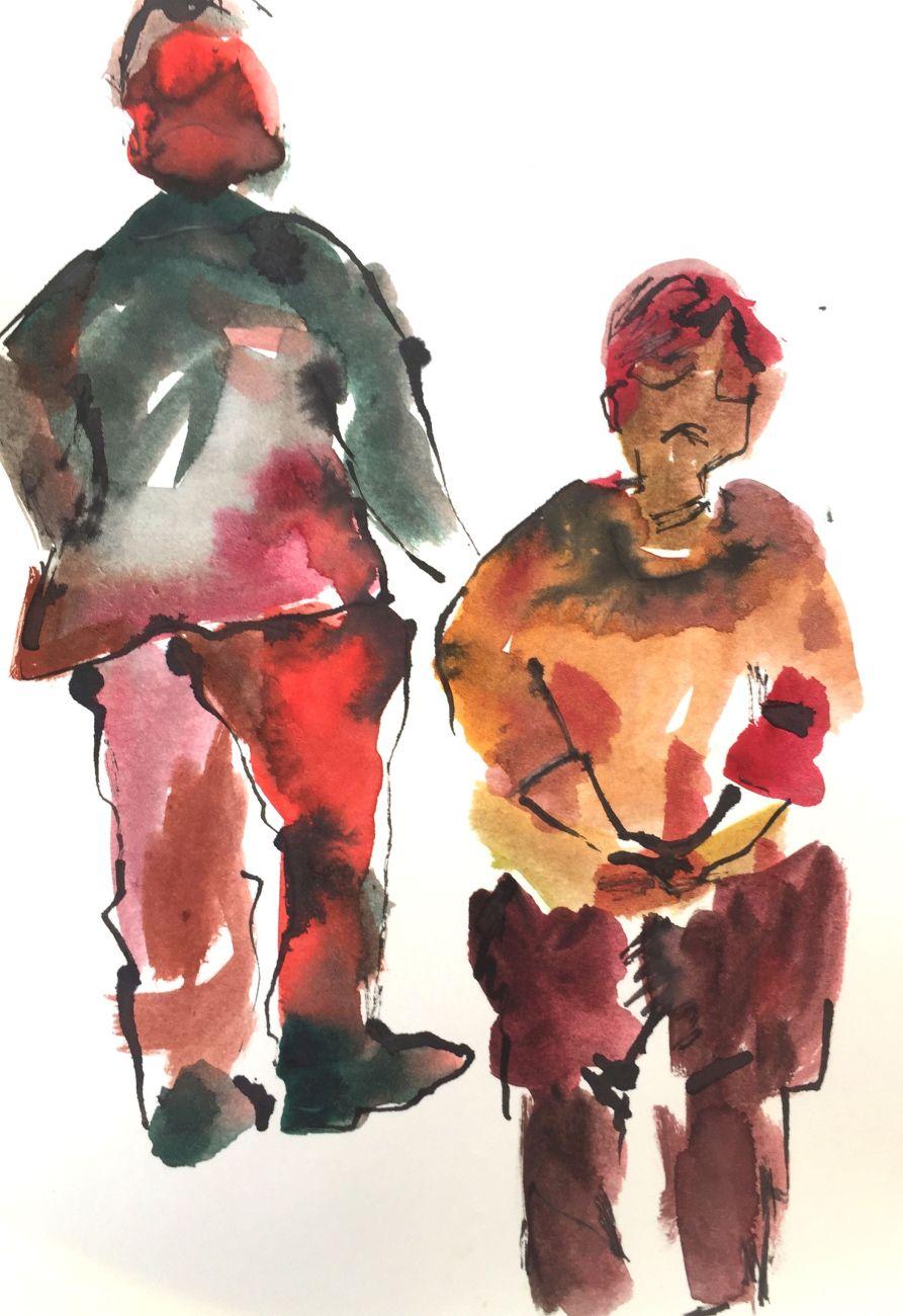 Mal-und Zeichenkurs von Brigitte Fischer-Kaufmann_Spass mit Stift und Farbe