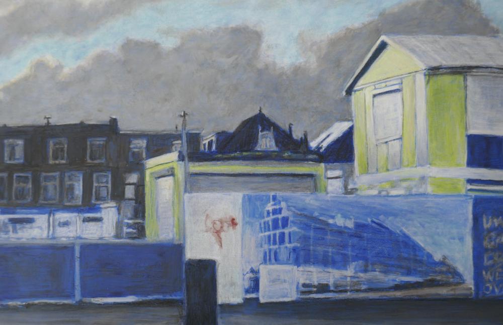 Beispiel, Ansicht von Delft, Ausschnitt, 1000 x 647 px