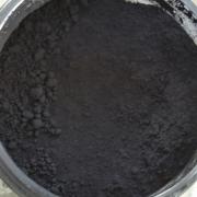 Pflanzenfarben, Eisenoxid-Pigment