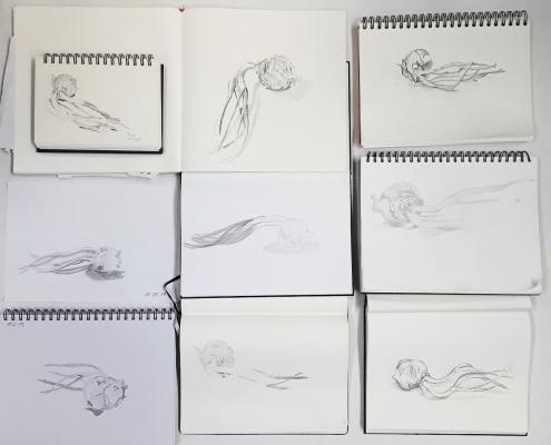 20-Minuten-Zeichnungen, Zwiebel