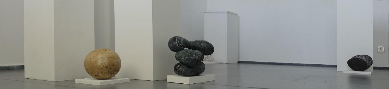 Ausstellung Sockel-los, 2020