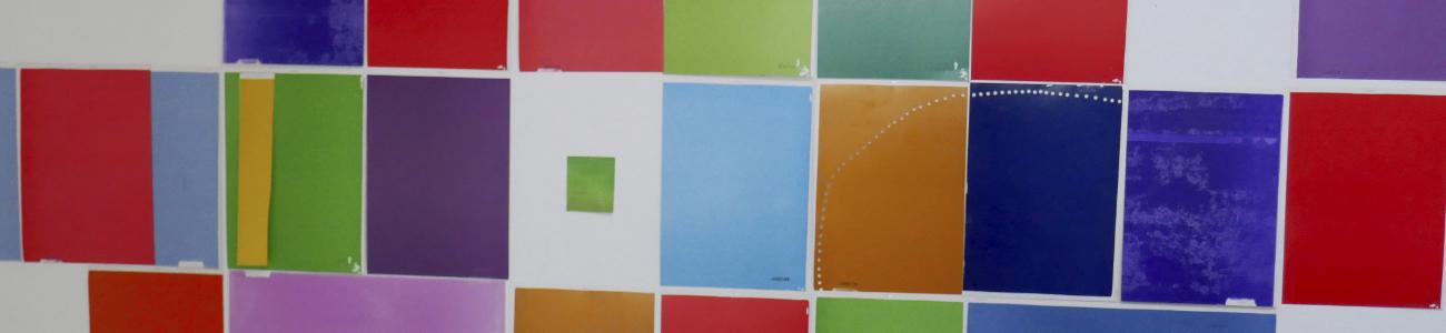 Farbfelder, Spiel mit dem Zufall
