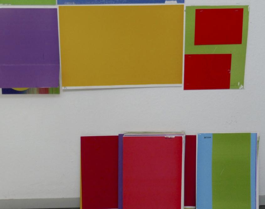 Farbfelder, Spiel mit dem Zufall 2