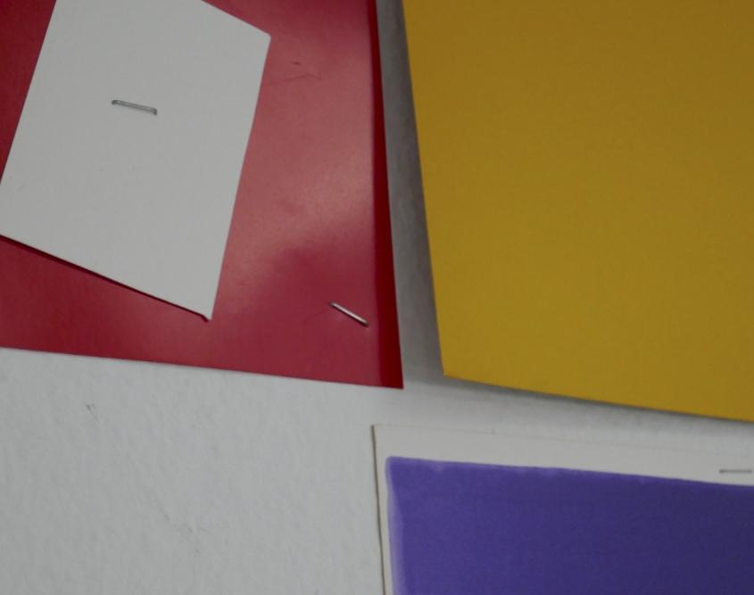 Farbfelder, Spiel mit dem Zufall 4