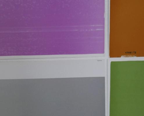 Farbfelder, Spiel mit dem Zufall 6