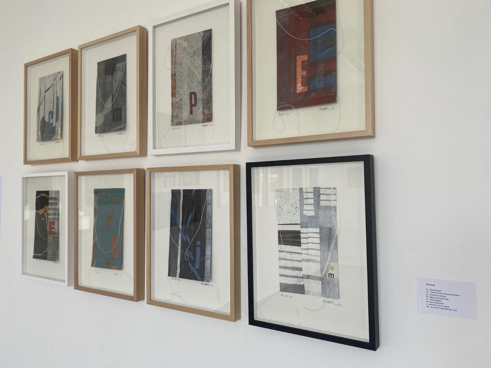 Druck-Grafik, Ausstellung von Antje Fischer in der Kunstakademie Esslingen