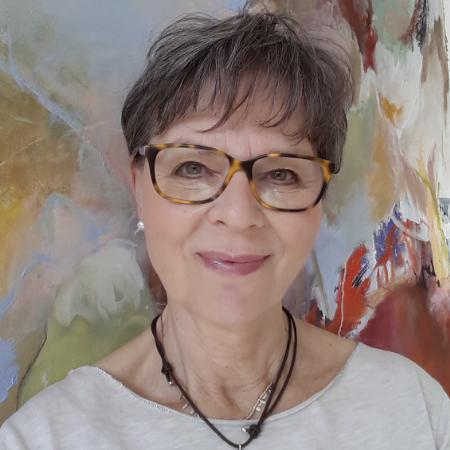 Dozentin Hentschel Angelika, Acrylmalerei