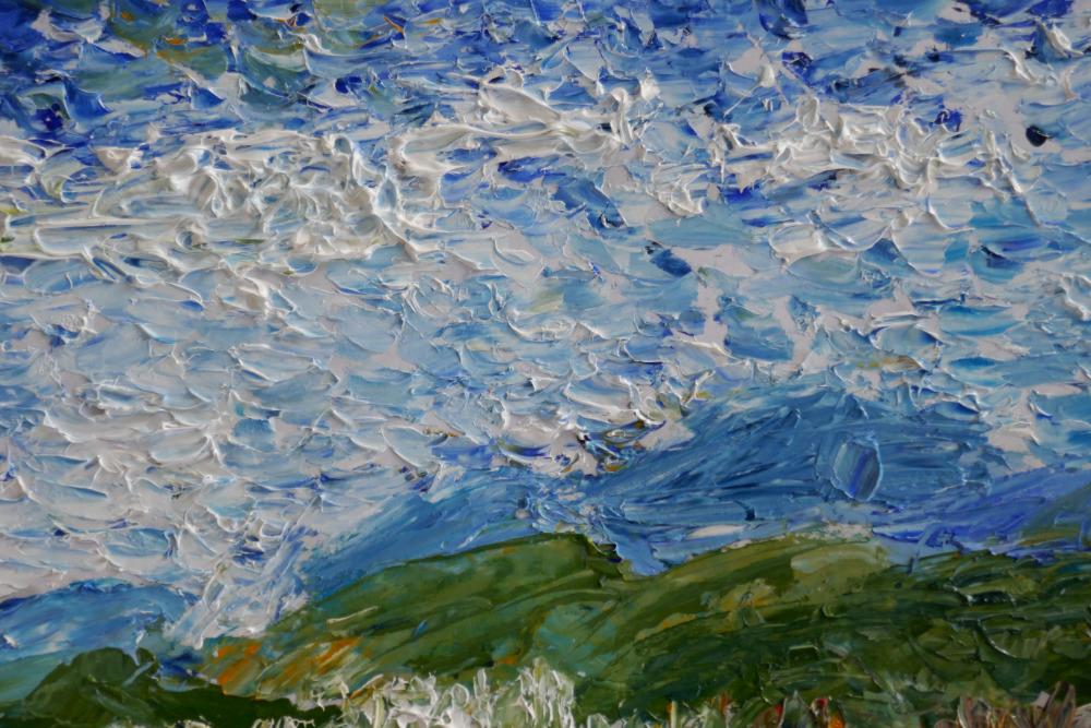 Ölmalerei-Kurs, Kornelia Pfütze, Beispielbild